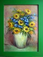 Picturi cu flori Flori de martie