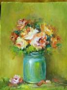 Picturi cu flori Flori din sala de clasa