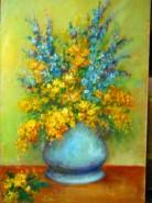 Picturi cu flori Flori vesele