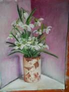 Picturi cu flori Ghiocei