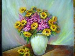 Picturi cu flori Gingasia florilor