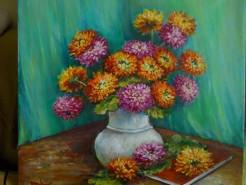 Picturi cu flori Nostalgie in culori