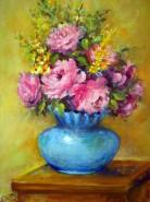 Picturi cu flori Parfum suav