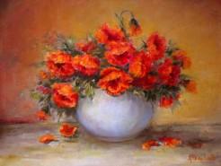 Picturi cu flori Revin macii