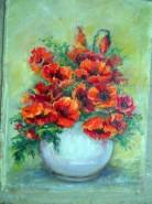 Picturi cu flori Si totusi macii