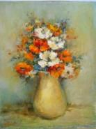 Picturi cu flori Zambete si flori