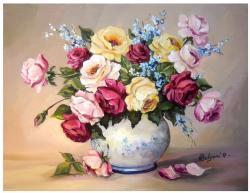 Picturi cu flori BUCURII FLORALE