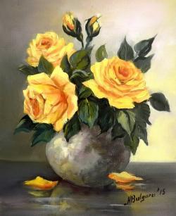 Picturi cu flori CANDOARE