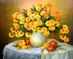 Picturi cu flori DARUL D-NEI TOAMNA