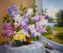 Picturi cu flori De doua ori primavara