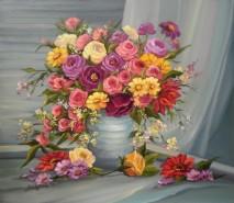 Picturi cu flori Explozie florala 2