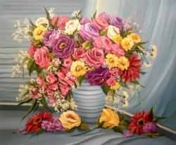 Picturi cu flori EXPLOZIE FLORALA (3)