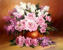 Picturi cu flori FLORI DE PRIMAVAARA IN DAR 2