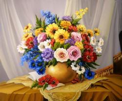 Picturi cu flori FLORILE ANEI