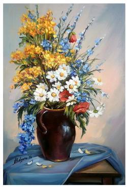 Picturi cu flori FLORILE CIMPULUI (2)