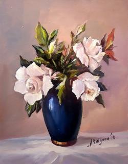 Picturi cu flori MAGNOLII MARTISOR