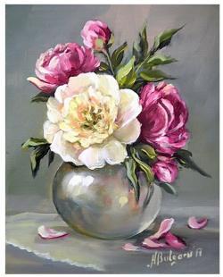 Picturi cu flori MARTISOR DE PRIMAVARA
