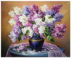 Picturi cu flori PARFUM DE LILIAC (2)