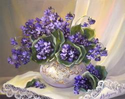 Picturi cu flori PARFUM DE TOPORASI