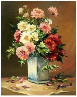 Picturi cu flori PARFUM FLORAL