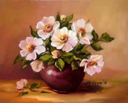 Picturi cu flori Petale de macies
