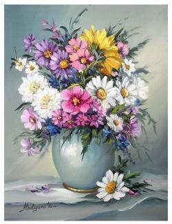 Picturi cu flori POEM FLORAL