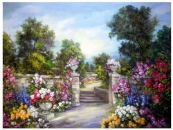 Picturi cu flori RAIUL FLORILOR