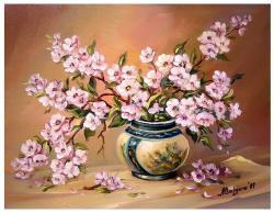 Picturi cu flori RAMURI INFLORITE (2)