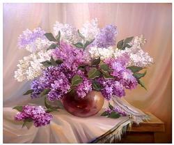 Picturi cu flori ROMANTA PRIMAVERII