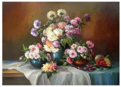 Picturi cu flori SARBATOAREA DUMITRITELOR