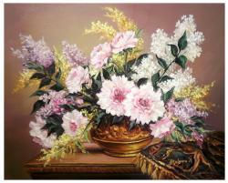 Picturi cu flori SCLIPIRI DE PRIMAVARA