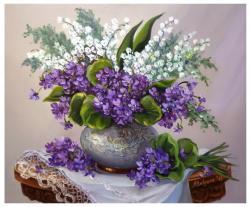 Picturi cu flori Toporasi si lacramioare