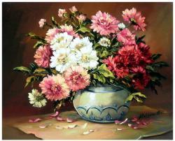 Picturi cu flori UN BUCHET CU DUMITRITE