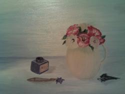 Picturi cu flori Decor mediteranean