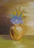 Picturi cu flori Vaza cu imortele