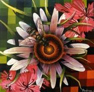 Picturi cu flori Din floare in floare