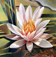 Picturi cu flori Floare de lotus