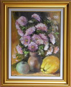 Picturi cu flori AMINTIRI DE TOAMNA