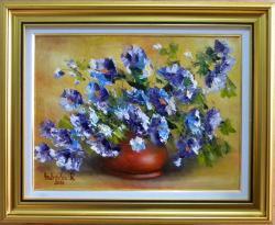 Picturi cu flori BOL CU FLORI DE CAMP