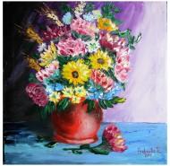 Picturi cu flori De aniversare