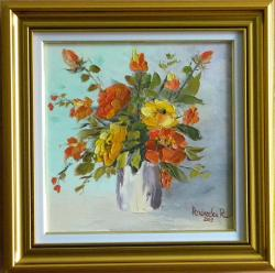 Picturi cu flori Flori4