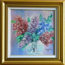 Picturi cu flori Flori de liliac