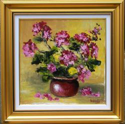 Picturi cu flori FLORI DE PERVAZ