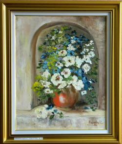Picturi cu flori Flori in nisa