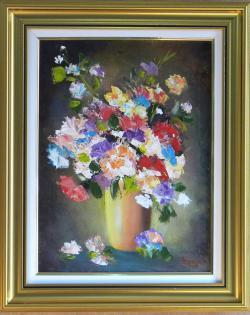 Picturi cu flori FLORI MULTICOLORE8
