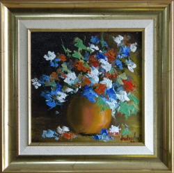 Picturi cu flori FLORI MULTICOLORE 6
