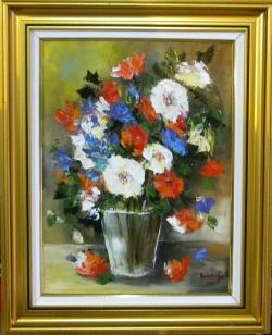 Picturi cu flori FLORI MULTICOLORE 9