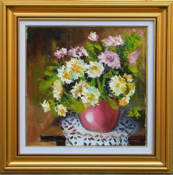 Picturi cu flori FLORI PE MILEU