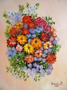 Picturi cu flori Flori si culori