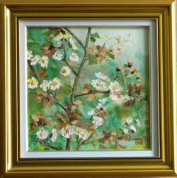 Picturi cu flori Ram de primavara